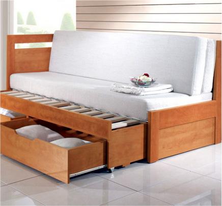 rozkládací postel Klasik